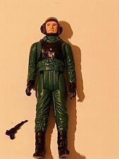 Star Wars Kenner A-Wing Pilot w. Black Blaster 1985 Last 17 vintage