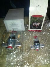 Lot Of To 1941 Murray Airplanes Two Different Sizes Mini Kiddie Car Collection