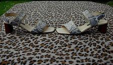 Kennel and Schmenger (K + S) snakeskin pattern sandals UK size 5 EU 38