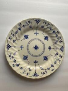 """1-50 Churchill Blue Finlandia 10"""" Dinner Plate NWOT"""