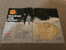 Vintage 1983 MOSS BROWN GORE-TEX 10 MILER RUNNING SUIT Pants Poster Print Ad 80s