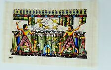 Bastet echt Papyrus aus Ägypten mit Kartusche zum namen schreiben
