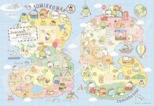 1000 pieces Jigsaw Puzzle Sumikko Gurashi Sumikko Tour Map San-X from Japan*
