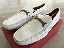 Tod's Ferrari in pelle Scamosciata City Gommino Drivers Us 12 Made in Italy