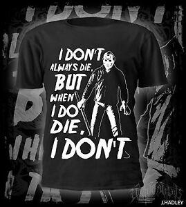 friday the 13th tribute t-shirt,thrash metal,heavy metal,Jason,film,horror,dvd