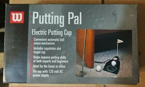 WILSON PUTTING PAL ELECTRIC PUTTING CUP Amazing Condition