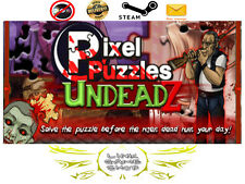 Pixel Puzzles: UndeadZ PC Digital STEAM KEY - Region Free