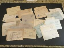 *23* German Third Reich Nazi 1940-44 Feldpost covers ALL WITH ORIG LETTERS  R
