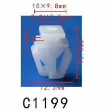 5PCS Nylon Fit Honda Moulding Clip Retainer 75306-SZA-A01 Pilot 09-11 12mm Hole