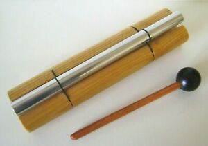 """The Original WOODSTOCK CHIMES  Zenergy Chime SOLO CHIME 7"""" Inches and STRIKER"""