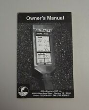 Orca Phoenix Dive Computer Owner's Manual Instruction Booklet Only (M1270)