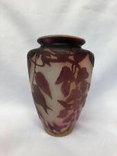 Galle French Cameo Vase