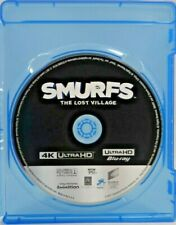 Smurfs: The Lost Village (4K Ultra HD Blu-ray, 2017) Disc only !!!