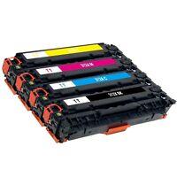 4 x Toner Cartridge for HP 312X 312A Color LaserJet Pro MFP M476nw M476dn M476dw