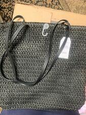 Oversized black beach bag new with tag