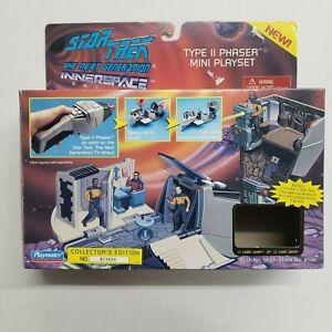 1995 Star Trek The Next Generation Type II Phaser Micro Mini Playmates with Box