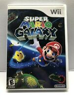 Super Mario Galaxy - Nintendo Wii 2007 - Complete w/ Manual - Tested - Free Ship