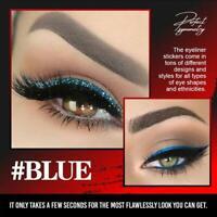 6 Pair Reusable Eyeliner Stickers Makeup Eyeshadow Face Cat Eye Smokey Cosmetic
