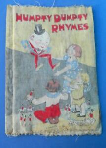 DEANS RAG BOOK CHILDRENS HUMPTY DUMPTY RHYMES No.320 c1932