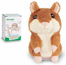 New listing Talking Hamster Plush Toy Repeat What You Say Interactive Kids Toy