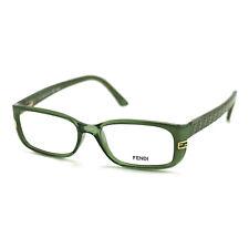 Fendi Women's Authentic Eyeglasses FF 999 315 Green Frame Glasses 50 15 135