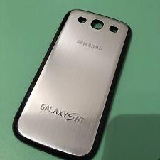 Metall Alu Backcover Samsung Galaxy S3 Silber NEU