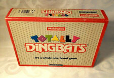 """VINTAGE TOTALLY DINGBATS-""""ITS A WHOLE NEW BOARD GAME """" BY WADDINGTONS 1990"""