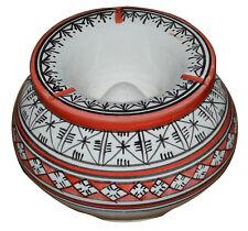 Cigar Ashtray Moroccan Ceramic Outdoor Smokeless  Patio Garden Extra Large New