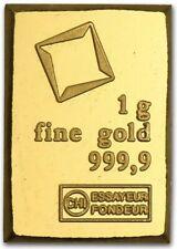 2020 • Valcambi Combibar™️ Suisse Gold 24KT .9999 Fine • 1 Gram Gold Bar *NEW*