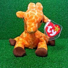 Ty Beanie Baby TWIGS Giraffe  w/ Tag ERRORS Plush Toy RARE PVC RETIRED