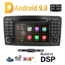 Android 9.0 CAR DVD GPS Player for Mercedes Benz X164 W164 ML GL Navigation Wifi
