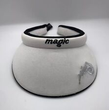 NBA Orlando Magic Clip-on Visor Cap Hat White Reebok Adult Women 100% Cotton