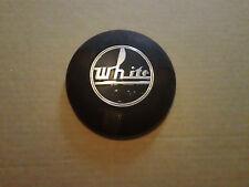 WHITE Fire Truck Horn Button Emblem Badge Trim Steering Wheel Logo Sign