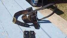"""Lewis """"Police Special"""" Holster w/ Belt & Shoulder Strap Ammo Pouch Detective"""