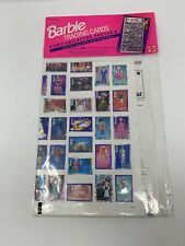 1991 Vintage Barbie Trading Cards Collector Poster Wall Decor
