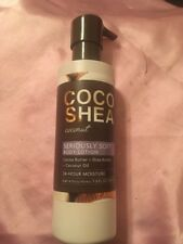 Bath and Body Works Coco Shea COCONUT Seriously Soft Body Lotion 7.8 oz FULL SZ