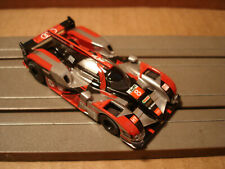TOMY AFX H.O. SCALE SET ONLY SLOT CAR  AUDI R-18 #8 SILVER/BLACK/RED NEW
