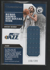 RICKY RUBIO 2017-18 PANINI CHRONICLES JERSEY CARD #CS-RRB  /199