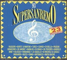 Supersanremo 93 BERTE' & MARTINI CONIDI PAUSINI MUROLO MINGARDI FANDANGO CD 1993