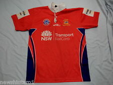 #LL1. NSW STUDENT / RAILCORP    RUGBY LEAGUE  PLAYER'S  JERSEY & SHORTS