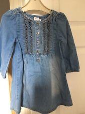 Baby Girls' Mini Club Denim Dress, Age 1.5-2years