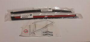 GENUINE BMW Z3 Z3M COUPE WINDOW TRIMS 51368399227 51368399228