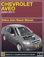 Chevrolet aveo (2002-2010) service manual.