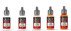 Vallejo Game Color Model Paints 17ml Full Range of Fantasy Acrylic washes & Inks