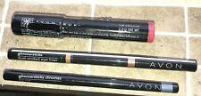 Discontinued Avon Makeup Lip Crayon Glimmerstix Chrome Flashdance Eyeliner Grey