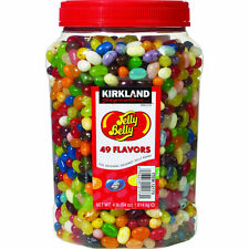 Original Jelly Belly Beans 4 lb tub,49 Gourmet Flavors 64 oz Kirkland Fast Ship!