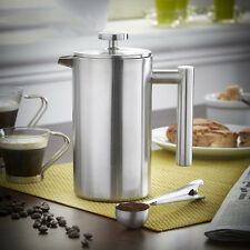 350ml Stainless Steel Coffee Plunger Filter Double Wall  French Press Tea Maker