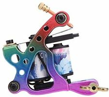 Docooler New Pro Tattoo Machine Gun Shader Liner 10 Wrap Coils Free Spring
