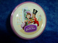 Vintage MACKINTOSH'S QUALITY STREET TIN Toffees & Chocolate Confectionery advert