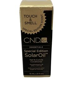 NEW CND SOLAR OIL 14ML SPECIAL EDITION SCENT - NAIL & CUTICLE CONDITIONER